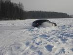 ПриорО мобиль на зимнем спринте